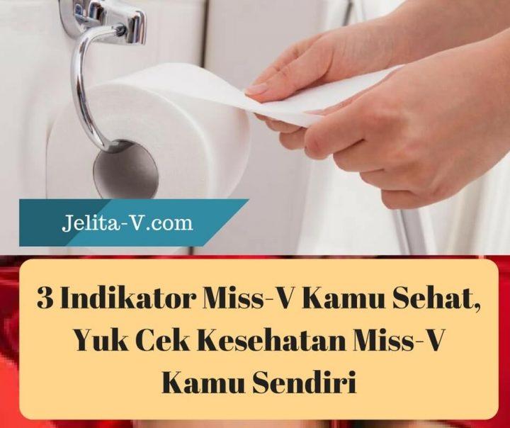 3 Indikator Miss V Kamu Sehat Yuk Cek Kesehatan Miss V Kamu Sendiri